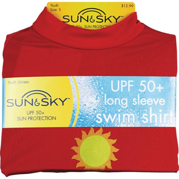 Children/'s Sun /& sky swim tee upf 50+