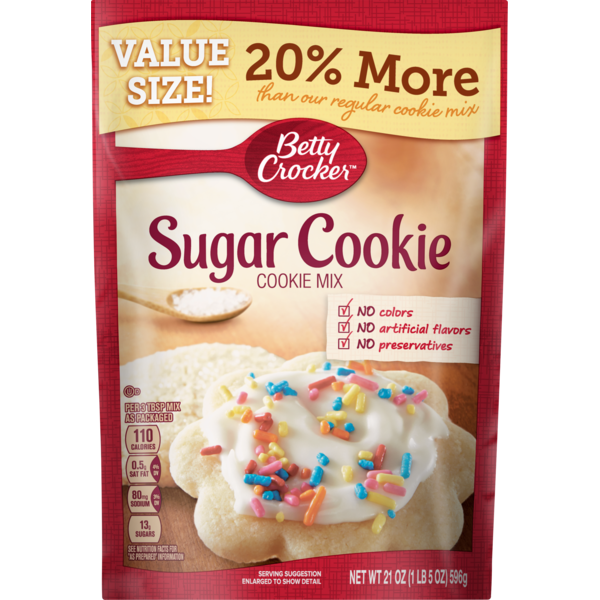 Betty Crocker Sugar Cookie Mix 21 Oz From Meijer Instacart Zip