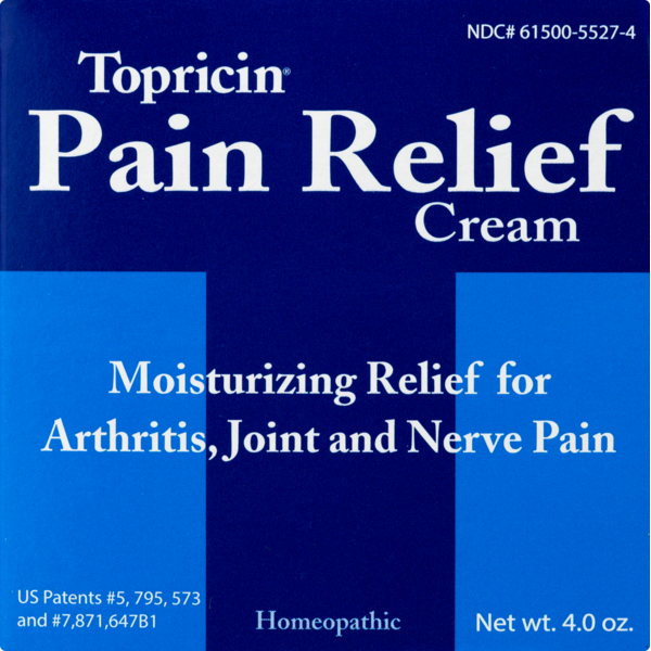 Topricin Homeopathic Pain Relief Cream (4 oz) from CVS