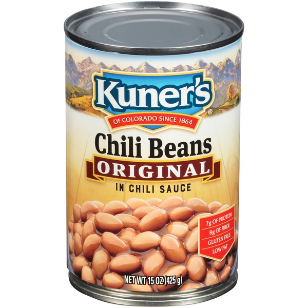 8468a9d9c Kuner's Original in Chili Sauce Chili Beans (15 oz) from Safeway ...