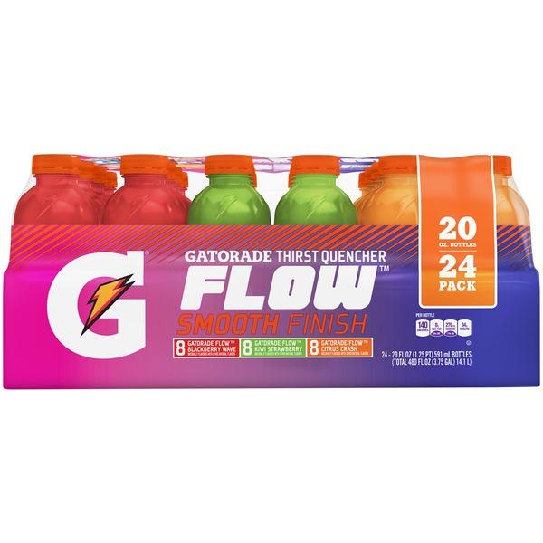 Gatorade Flow Blackberry Wave, Kiwi Strawberry & Citrus Crush Thirst