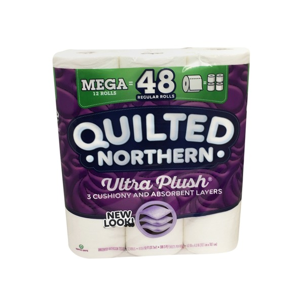 Quilted Northern Ultra Plush Mega Bath Tissue Rolls Each From