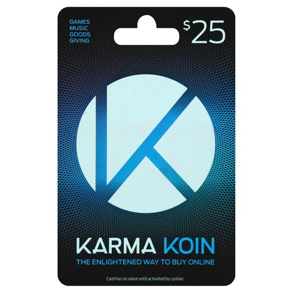 Karma Koin Gift Card, $25 (1 each) from Stop & Shop - Instacart