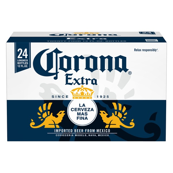 Corona Extra Mexican Import Beer (12 fl oz) from Stater Bros