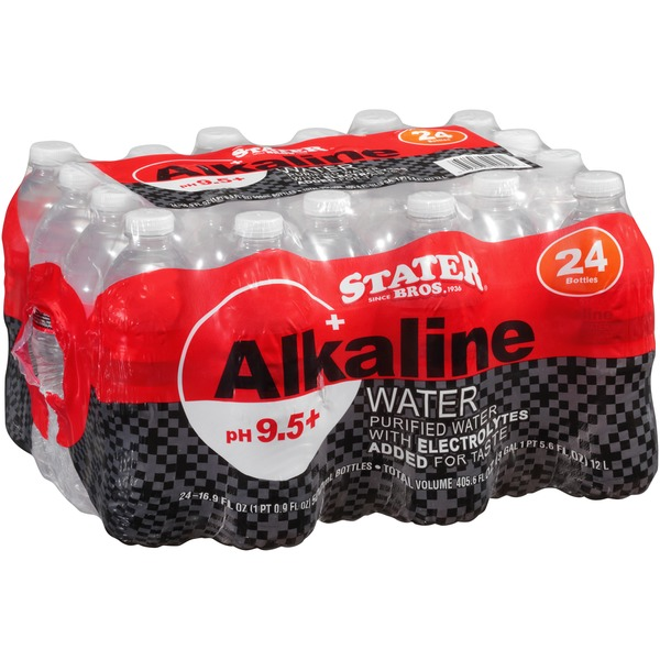 Stater Bros Alkaline Purified Water With Electrolytes (16 9 fl oz