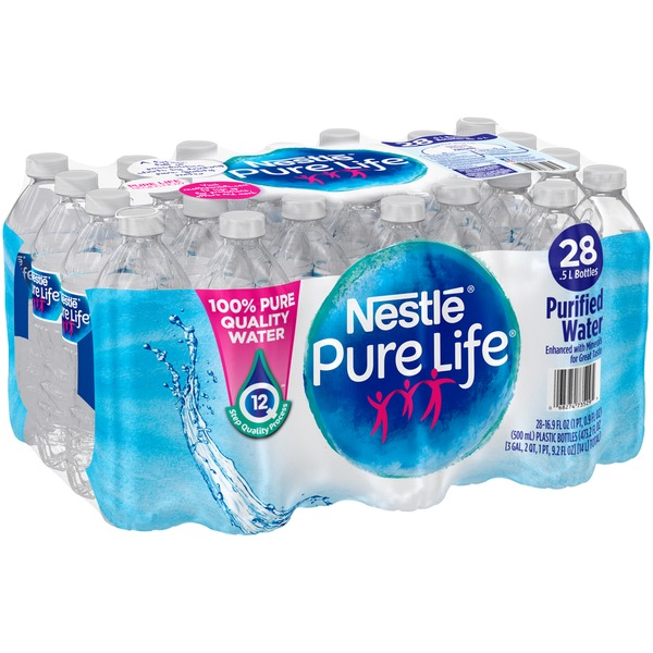 Nestle Pure Life Purified Water (16 9 fl oz) from Giant Food - Instacart
