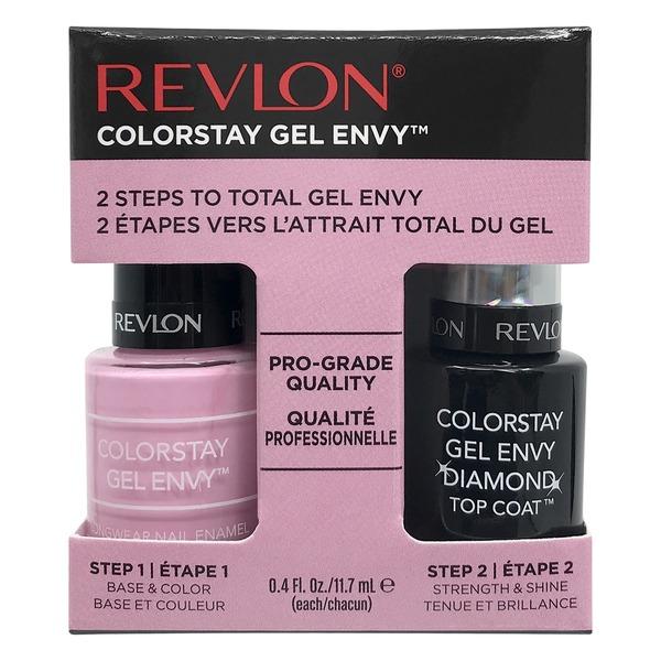 Revlon Colorstay Gel Envy 2 Steps Nail Enamel 735 Lucky in Love (1 ...