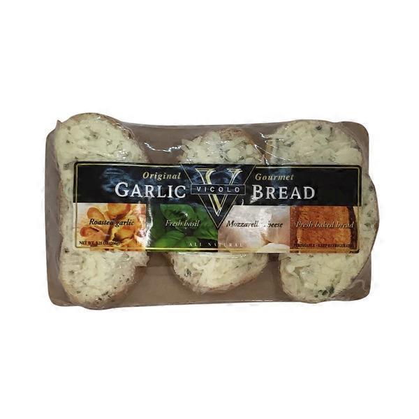 Vicolo Garlic Bread With Mozzarella 7 25 Oz From Whole
