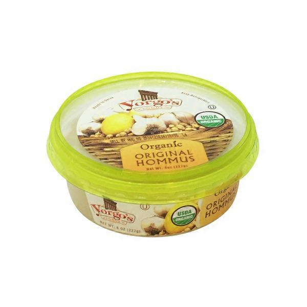 Yorgo's Original Hommus Organic Dip & Spread