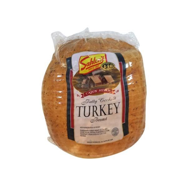 Sahlens Cajun Style Turkey Breast 9 Lb From Tops Markets