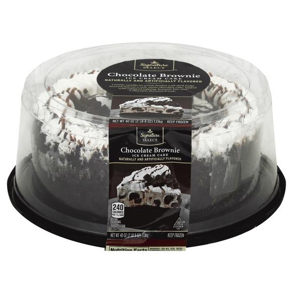 Ice Cream Cake At Albertsons