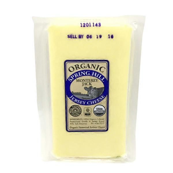 Spring Hill Jersey Cheese Monterey Jack Cheese (8 oz) from