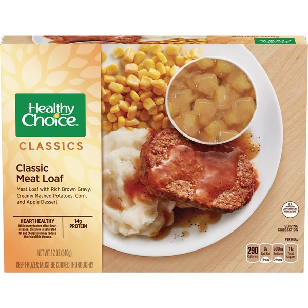 Healthy Choice Classic Meat Loaf Complete Meal From Food Lion