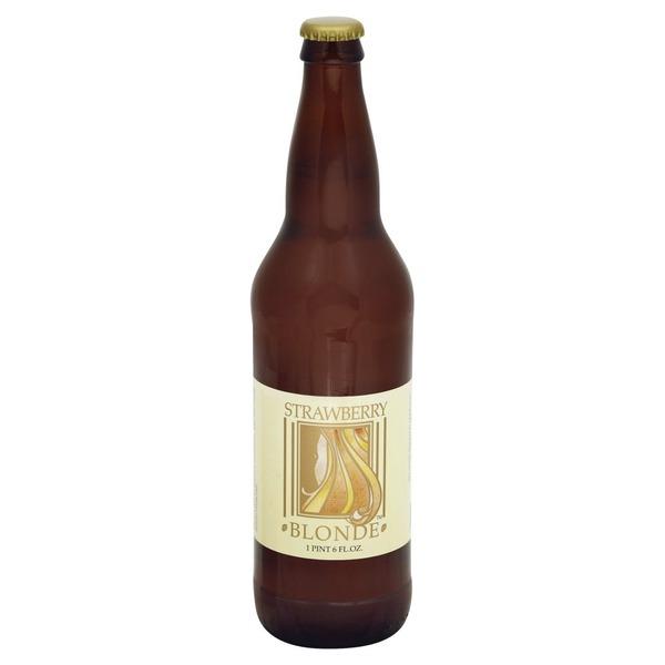 Belmont Brewing Beer Strawberry Blonde 22 Fl Oz Instacart