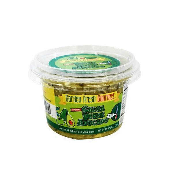 Garden Fresh Gourmet Gluten Free Salsa Verde Avocado 16