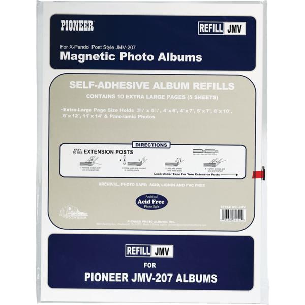 Pioneer Album Refills Self Adhesive 500 Ea From Cvs Pharmacy