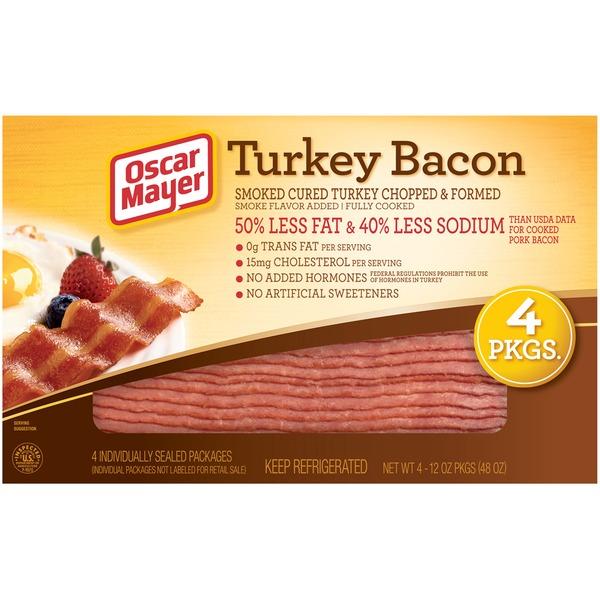 oscar mayer turkey bacon 12 oz from costco instacart