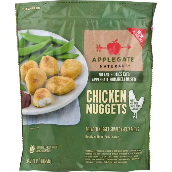 Applegate Naturals Chicken Nuggets From Whole Foods Market Instacart