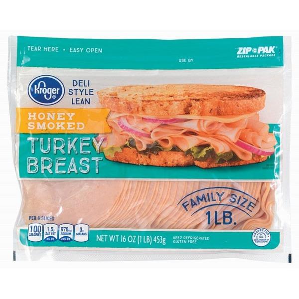 breast turkey Kroger smoked