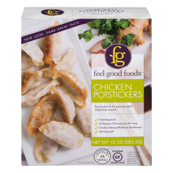 Feel Good Foods Chicken Potstickers From Vons Instacart
