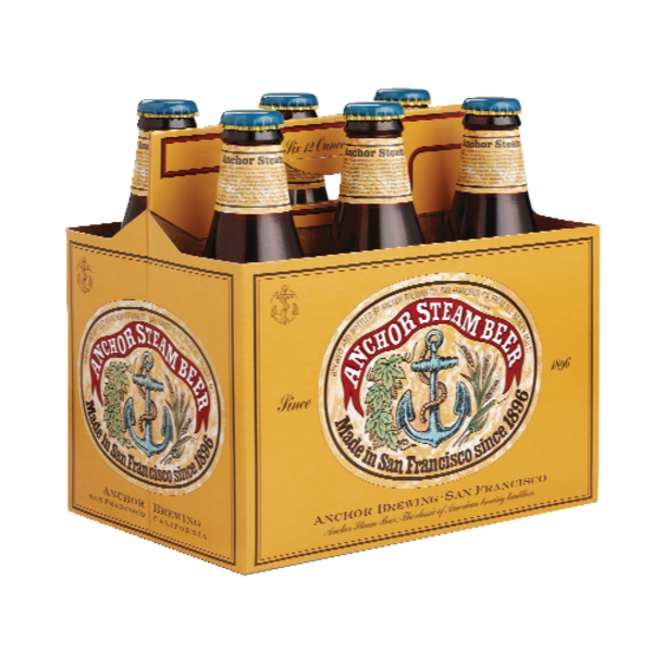 Anchor Brewing Anchor Steam Beer - 6 CT