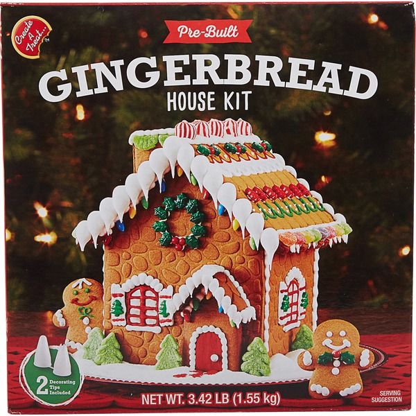 Create A Treat Gingerbread House Kit
