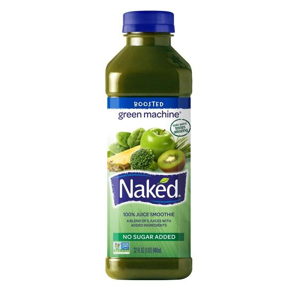 Naked Juice Boosted Smoothie, Green Machine, 15.2 oz Bottle - Walmart.com