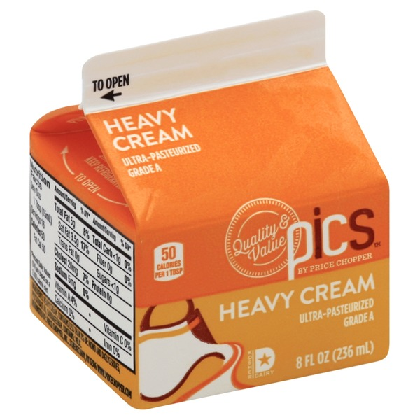 PICS by Price Chopper Heavy Cream (8 oz) from Price Chopper