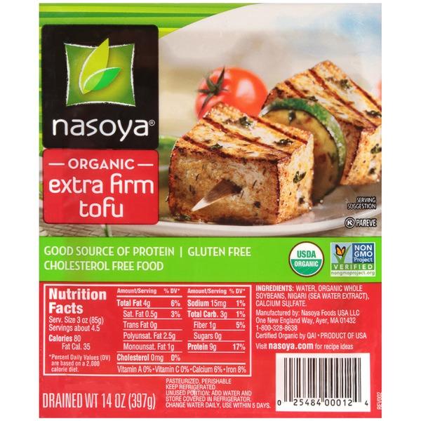 nasoya organic extra firm tofu from publix instacart