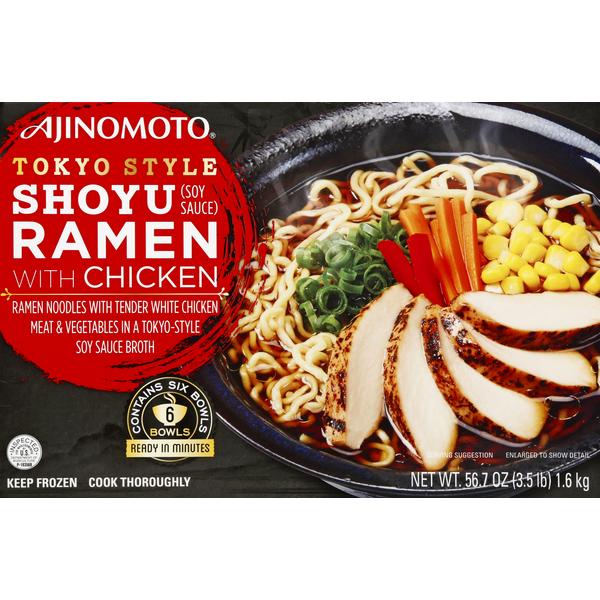Ajinomoto Shoyo Ramen, with Chicken, Tokyo Style (56.7 oz) - Instacart