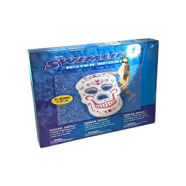 Swimline Giant Inflatable Sugar Skull Pool Float (each) from ...