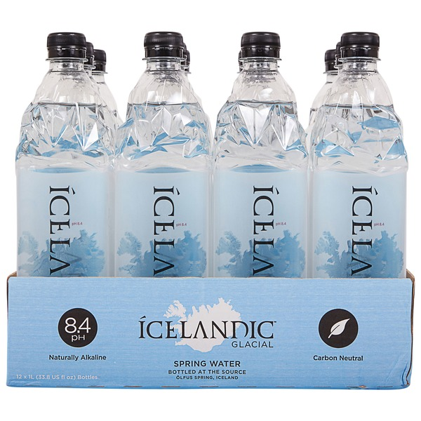 Icelandic Glacial Natural Spring Water (1 L) from Costco