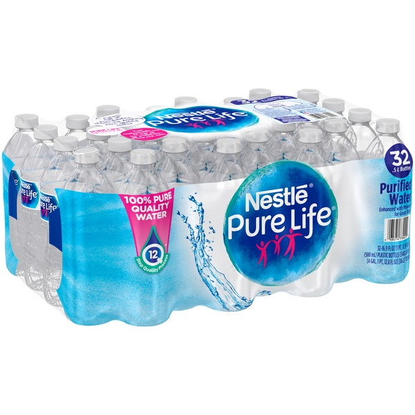 Nestlé Pure Life 100% Pure Quality Water (16 9 fl oz) from BJ's