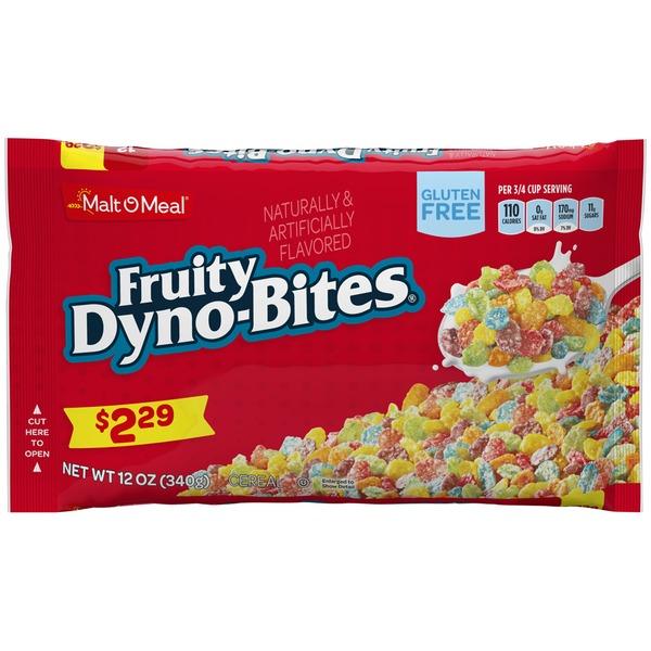 Malt-O-Meal Fruity Dyno-Bites Cereal (12 oz) from Schnucks