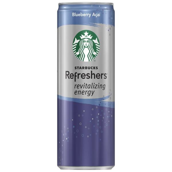 Starbucks Refreshers Revitalizing Energy Blueberry Acai 12