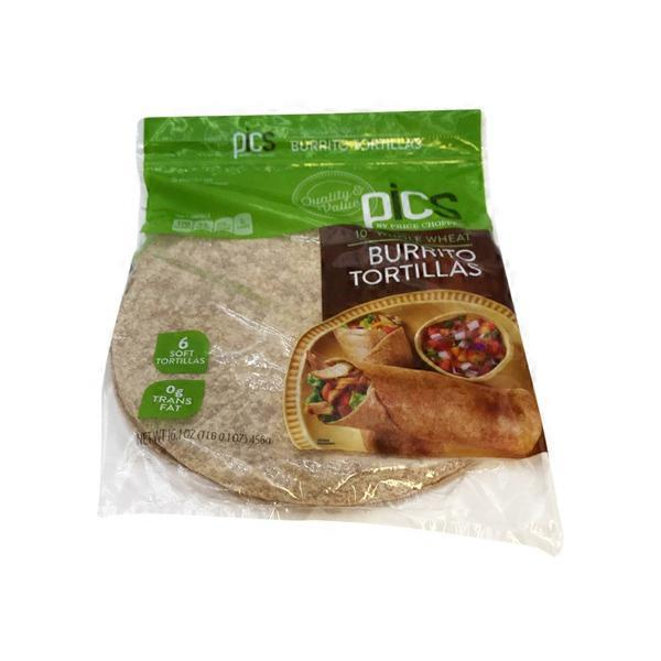 Price Chopper Pics Whole Wheat Burrito Tortilla Shells 16 1 Oz Instacart