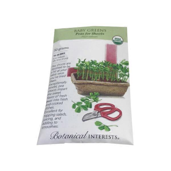 Botanical Interests Peas Microgreens Seeds (each) from Fred Meyer