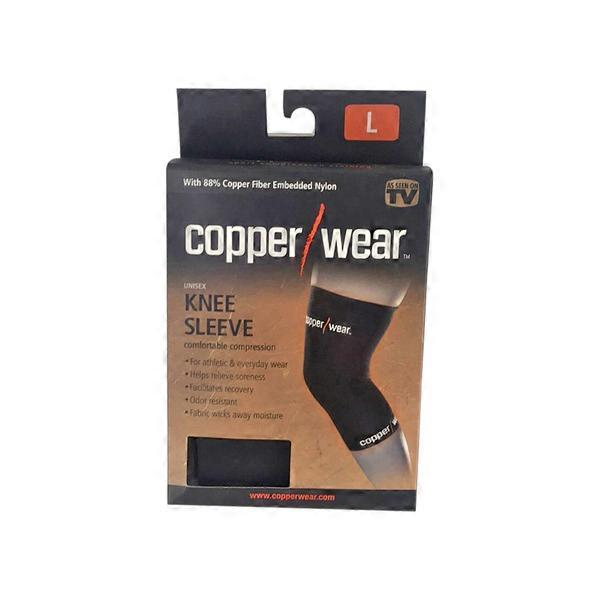 f043037611 Copper Wear 3 Large Compression Knee Sleeve (1 each) from Jewel ...