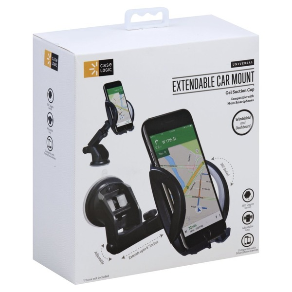 finest selection e7bc3 f8759 Case Logic Car Mount, Extendable, Universal (1 each) from H-E-B ...