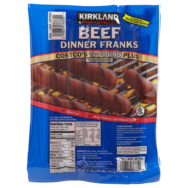 Image Result For Costco Kirkland Brand Dogs