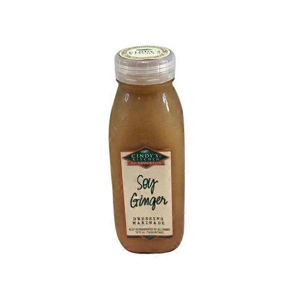 Cindy S Kitchen Soy Ginger 16 Oz From Fairway Market
