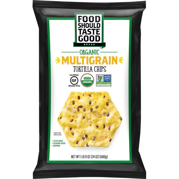 Food Should Taste Good Multigrain Tortilla Chips (24 oz