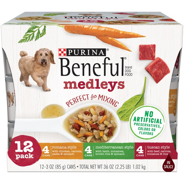 4da6363a5bf Beneful Medleys Variety Pack Purina Beneful Medleys Dog Food Variety Pack