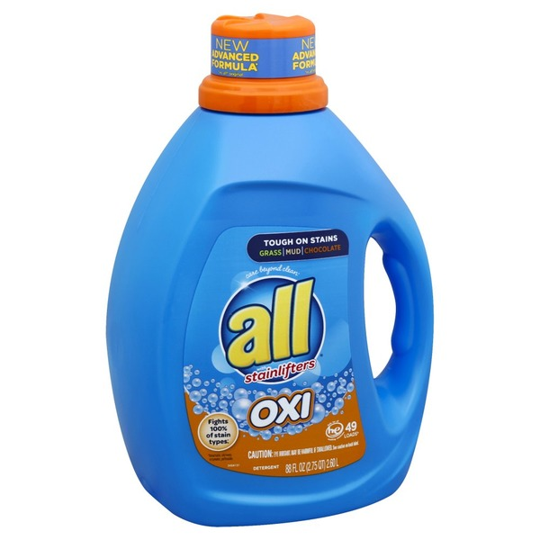 All Detergent, with Stainlifters, HE, Oxi (88 oz) from Safeway - Instacart