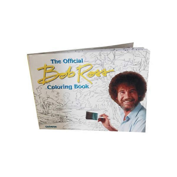 Penguin Bob Ross Coloring Book From Kroger Instacart