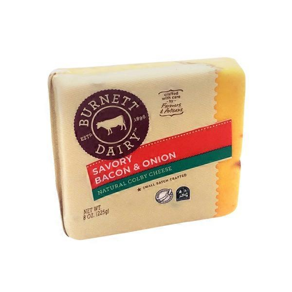 Burnett Dairy Natural Colby Cheese (8 oz) from Cub - Instacart