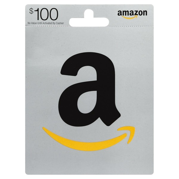 Amazon Gift Card, $100 (1 each) from Giant Food - Instacart