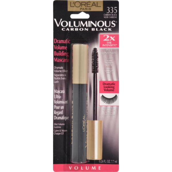 33c687e9e41 L'Oreal Paris Voluminous Mascara 335 Carbon Black (0.26 fl oz) from CVS  Pharmacy® - Instacart