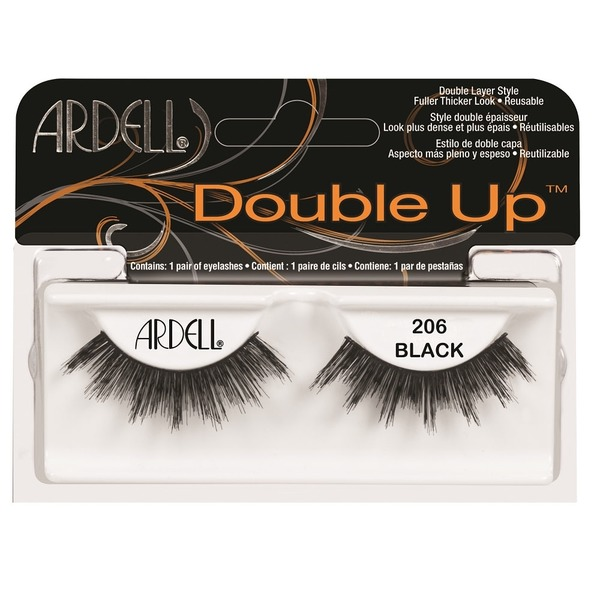 4a9fff7f388 Ardell #206 Black Double Up Lashes (each) from Fry's - Instacart