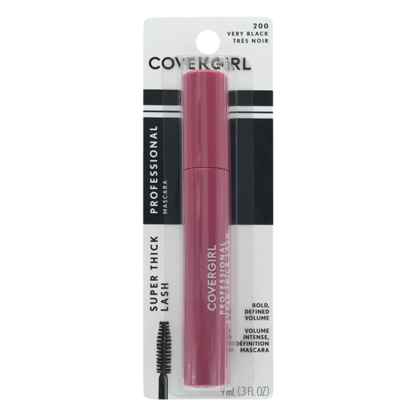 CoverGirl Professional Super Thick Lash Mascara 200 Very Black (0 3